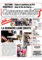 Journal CommunisteS n°547 - 5 mars 2014
