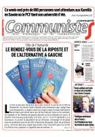 Journal CommunisteS n° 562 - 27 aout 2014