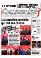 Journal CommunisteS n° 567 - 1er octobre 2014