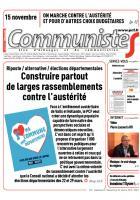 Journal CommunisteS n° 570 - 22 octobre 2014