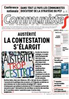 Journal CommunisteS n° 571 - 29 octobre 2014