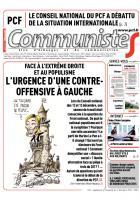 Journal CommunisteS n° 578 - 17 décembre 2014