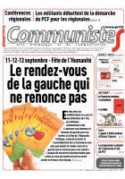 Journal CommunisteS n° 602 - 1er juillet 2015