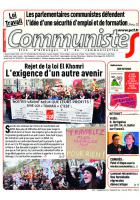 Journal CommunisteS n°633 du 13 avril 2016