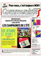 Journal CommunisteS n°644 - 29 juin 2016