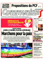 Journal CommunisteS n°650 - 21 septembre 2016