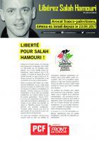 Pour la libération de Salah Hamouri (tracts, pétitions ... )