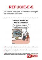 REFUGIE-E-S - La France n'est pas la forteresse assiégée de Bernard Cazeneuve
