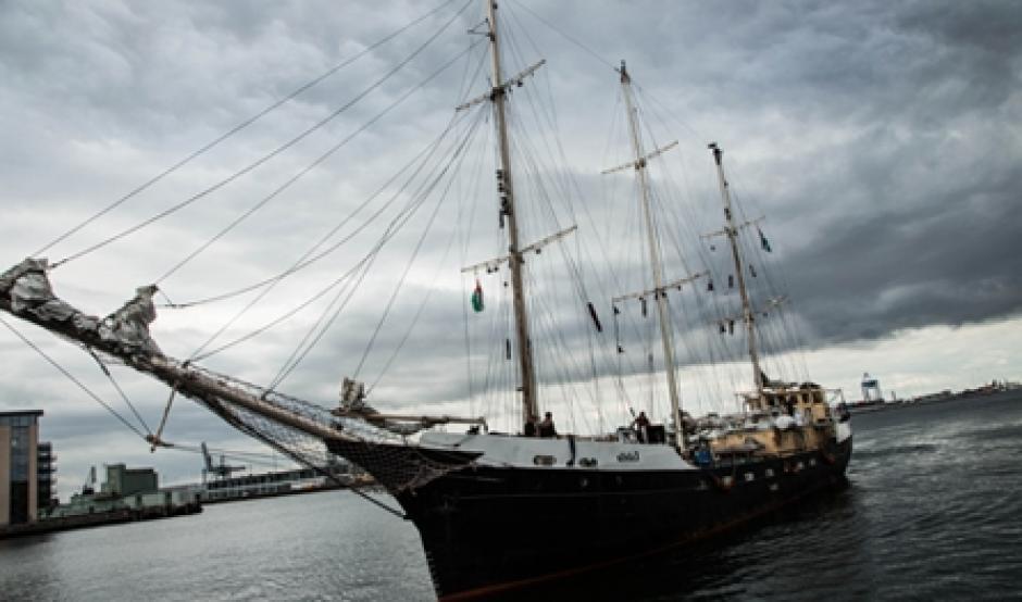 Venue d'un navire nommée Estelle en route vers Gaza