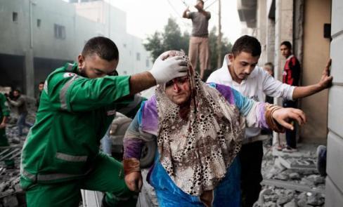 Rassemblement pour GAZA à Douarnenez