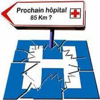 Douarnenez: Hôpital Michel Mazéas  en danger! Un choix de société: l'humain d'abord!